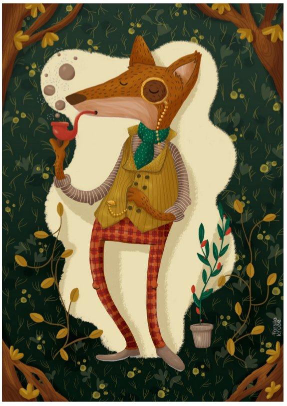 mr fox Tarsila Kruse - headstuff.org