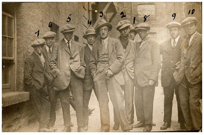 The Cairo Gang, 1920 © Sean Sexton Collection - HeadStuff.org