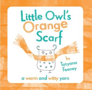 Tatyana Feeney Orange Scarf - headstuff.org