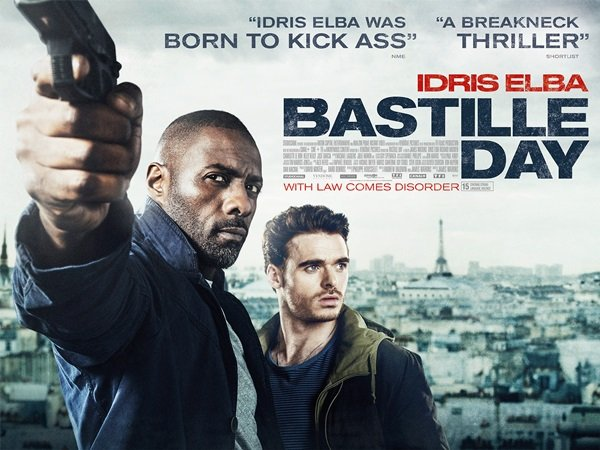 Bastille Day is in Cinemas on April 22nd - HeadStuff.org