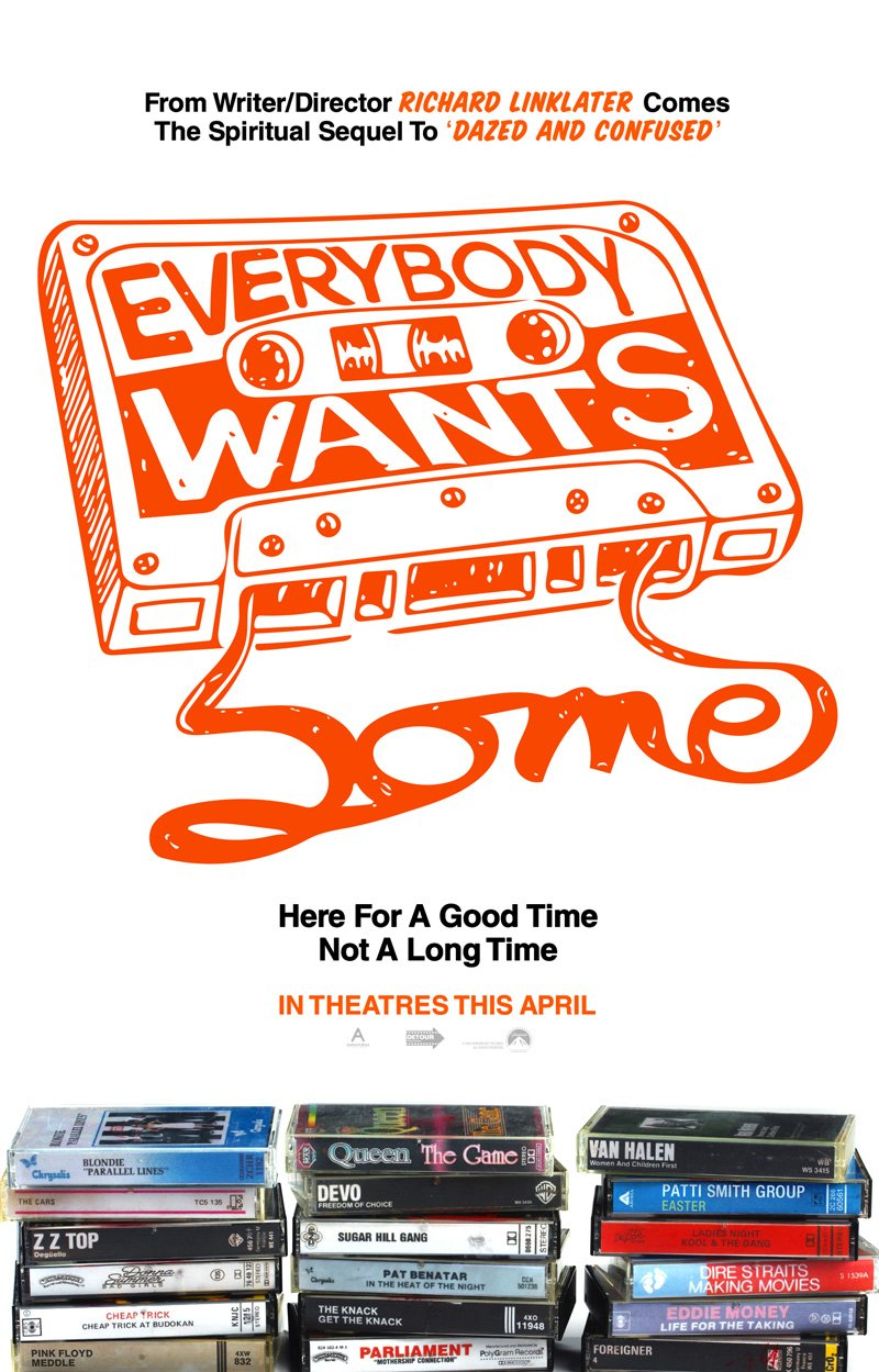 Everybody Wants Some is in Cinemas on May 13th - HeadStuff.org