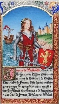 Image result for Jeanne de Clisson