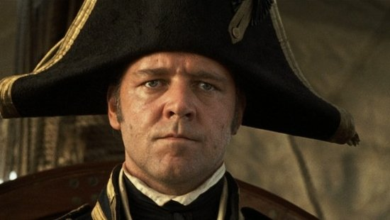 Russell Crowe as Captain Jack - HeadStuff.org