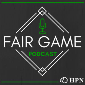 HeadStuff Podcast Network Fair Game Cover Artwork