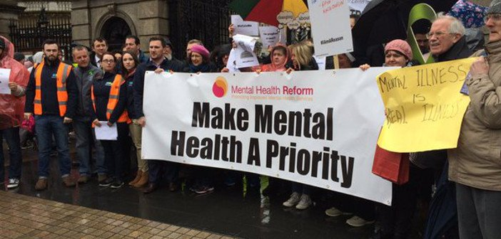 Mental health protest - HeadStuff.org