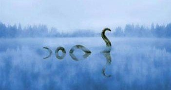 Nessie, the famous Scottish monster, as seen at history.com