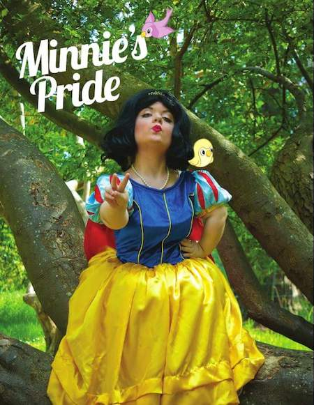Sinéad Burke bringing a message of peace as Snow White