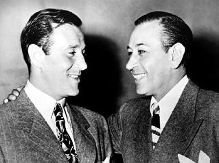 Bugsy Siegel and George Raft - headstuff.org