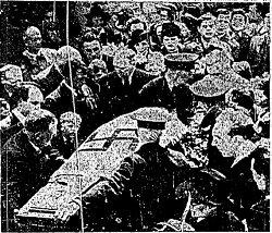 The funeral of Hermann Goertz - headstuff.org