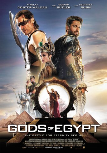 Film Review | Gods of Egypt - Whitewashing is Not the Only