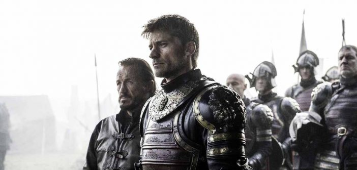 Jaime Lannister and Bronn in GoT. - HeadStuff.org