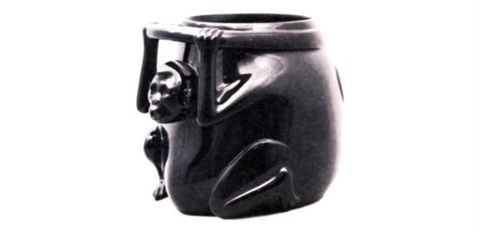 mexican obsidian monkey jar, mexico city museum heist robbery - HeadStuff.org