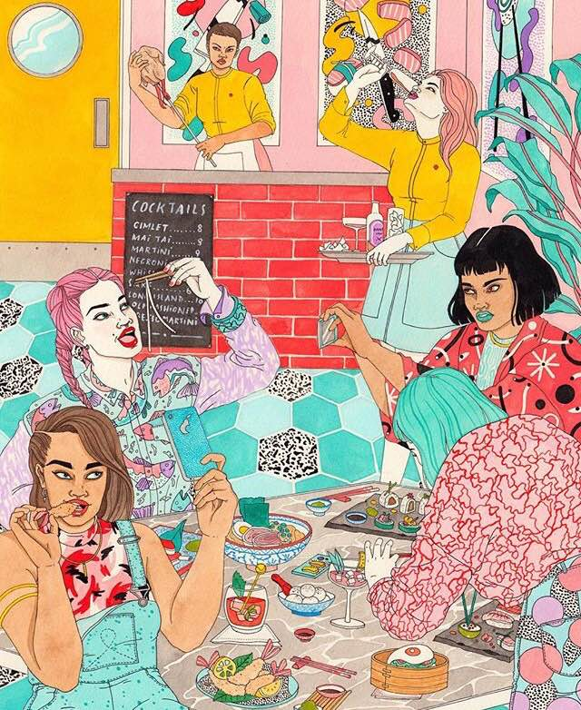 Laura Callaghan Illustration | Instagram Pick of the Week, headstuff.org