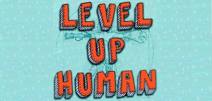 level up human logo