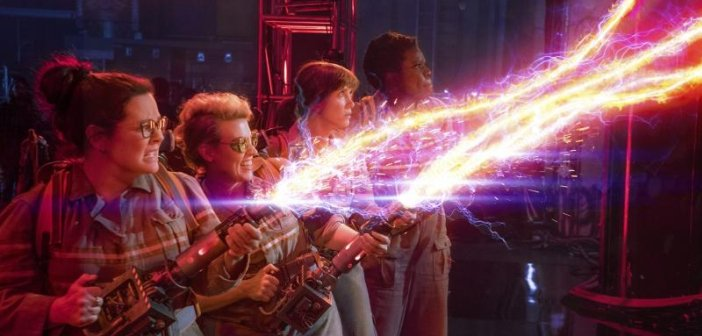 The All-Female cast of Ghostbusters. - HeadStuff.org