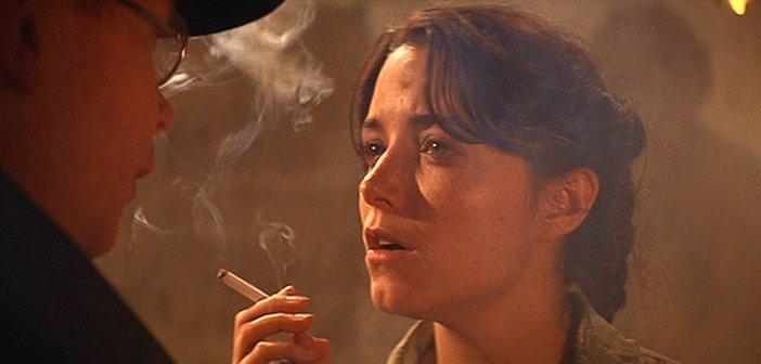 Marion Ravenwood in Raiders of the Lost Ark. - HeadStuff.org