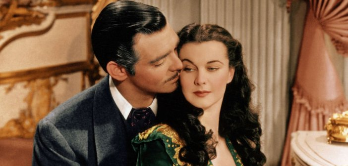 Clark Gable and Vivien Leigh in Gone With The Wind. - HeadStuff.org