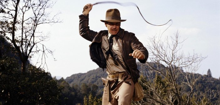 Indiana Jones with his trademark hat and whip. - HeadStuff.org
