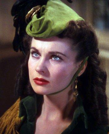 Vivien Leigh as Scarlett O'Hara. - HeadStuff.org