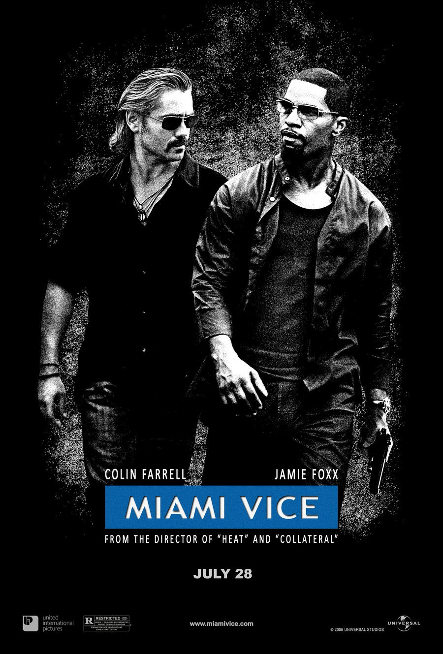 Miami Vice released in July 2006 - HeadStuff.org