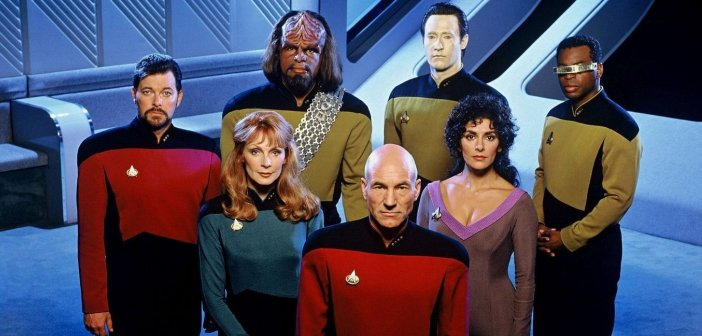 The cast of Star Trek: The Next Generation. - HeadStuff.org