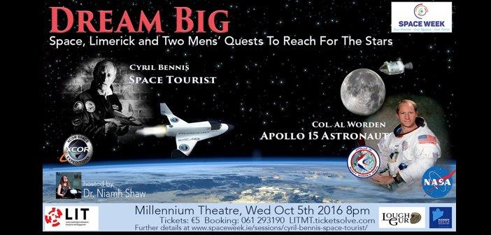 Space Week Dream Big poster