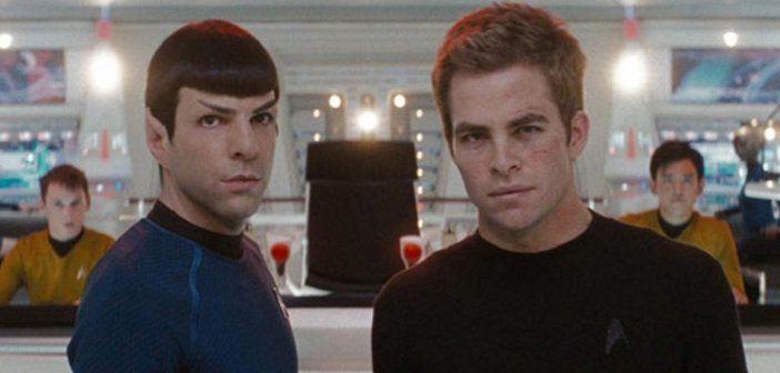 Zachary Quinto and Chris Pine as Spock and Kirk. - HeadStuff.org