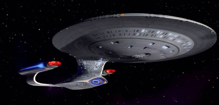 The USS Enterprise in Star Trek The Next Generation. - HeadStuff.ORG