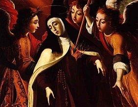 """The Transverberation of Saint Teresa"" (1672) by Josefa de Obidos - headstuff.org"