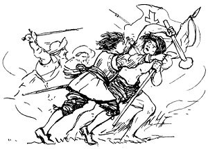 Catalina de Erauso fighting - headstuff.org