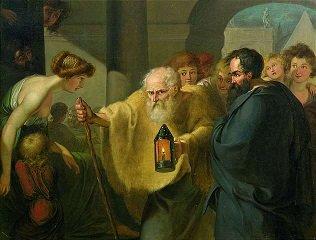 Diogenes by Johann Tischbein - headstuff.org