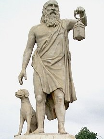 Statue of Diogenes - headstuff.org