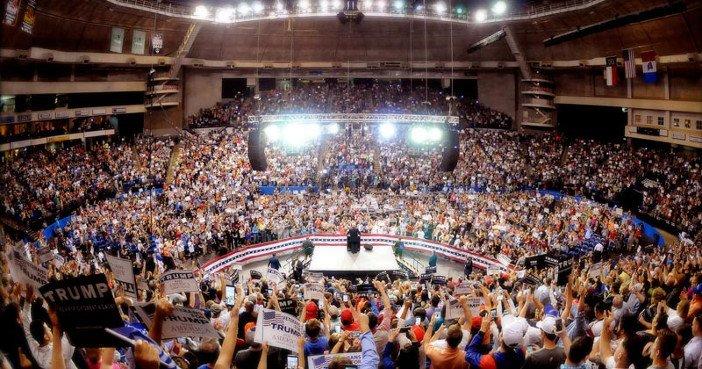 Trump Rally Mussolini - HeadStuff.org