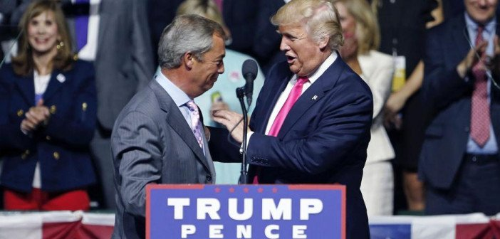 Trump Farage - HeadStuff.org