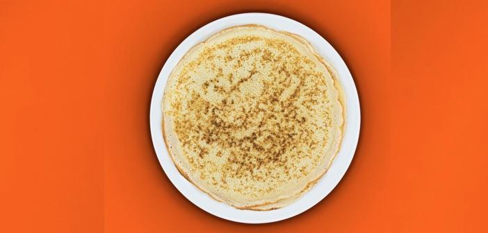 circular pancake