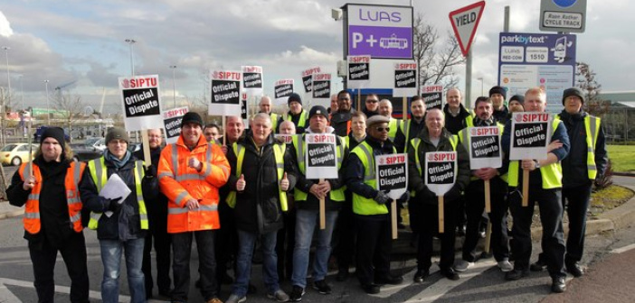 Luas strike - HeadStuff.org
