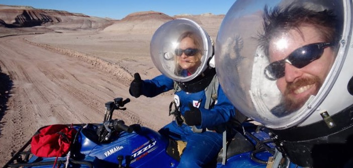 Mars Desert Research Station EVA Crew 173