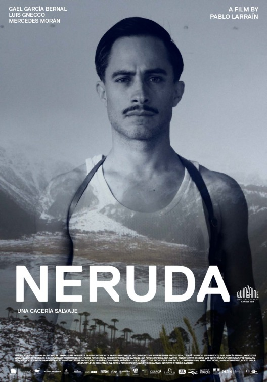 Neruda is in cinemas from the 7th April. - HeadStuff.org