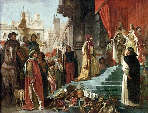 Columbus returning to Ferdinand and Isabella - headstuff.org