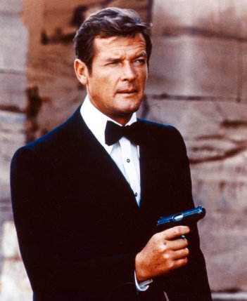 Roger Moore in The Spy Who Loved Me. - HeadStuff.org