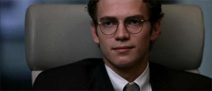 Hayden Christensen as fraudulent reporter Stephen Glass. Source