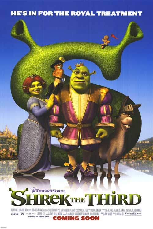 Shrek the Third was released on May 17th, 2007. - HeadStuff.org
