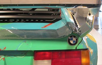 Andy Warhol's BMW