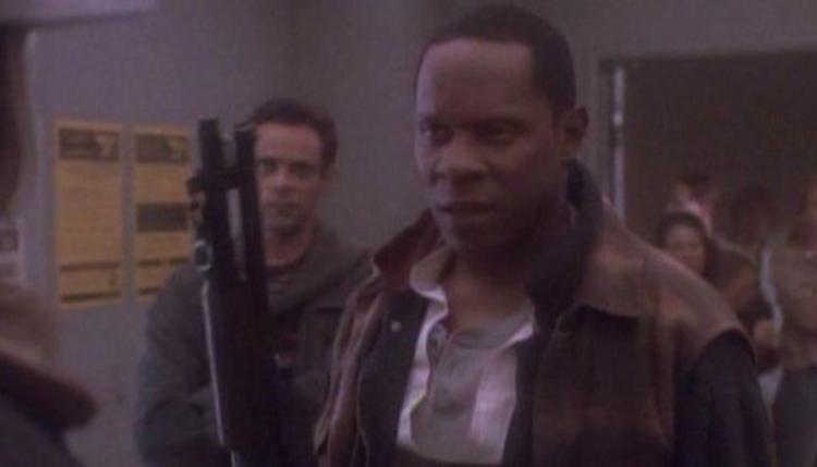 "Commander Sisko and Doctor Bashir in ""Past Tense"". - HeadStuff.org"