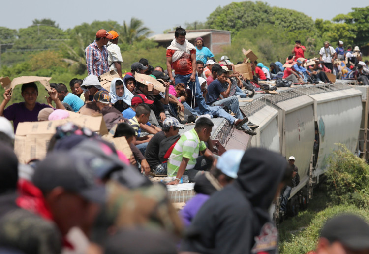 The Beast train Mexico - HeadStuff.org