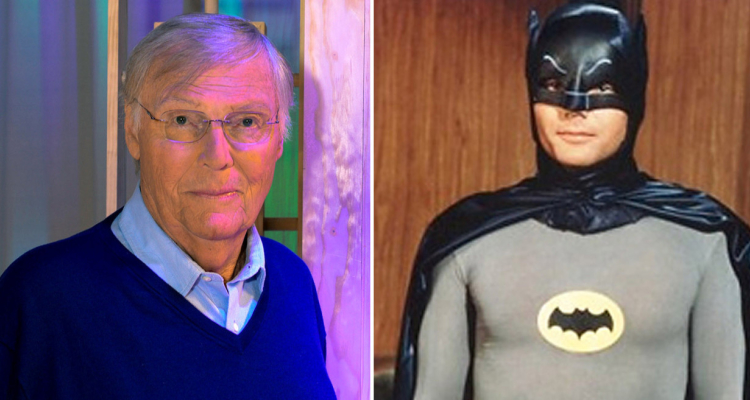 Adam West and his Batman character from the 1960s. - HeadStuff.org
