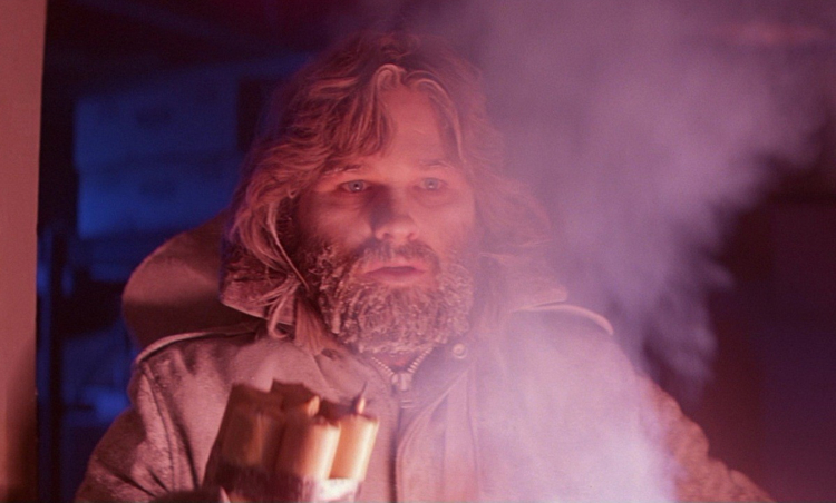 Kurt Russell in The Thing. - HeadStuff.org