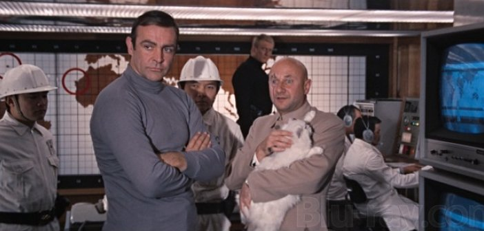 Bond and Blofeld in You Only Live Twice released 50 years ago today. - HeadStuff.org