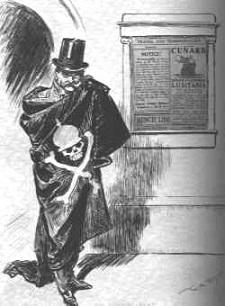 Caricature of Johann von Bernstorff - headstuff.org