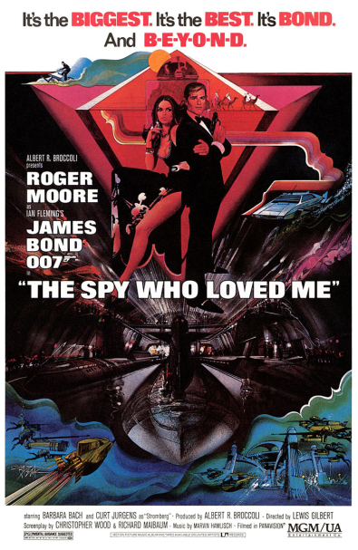The original poster for The Spy Who Loved Me released this day in 1977. - HeadStuff.org